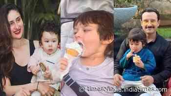 These photos of Saif Ali Khan and Kareena Kapoor's son Taimur Ali Khan prove that he has a sweet tooth