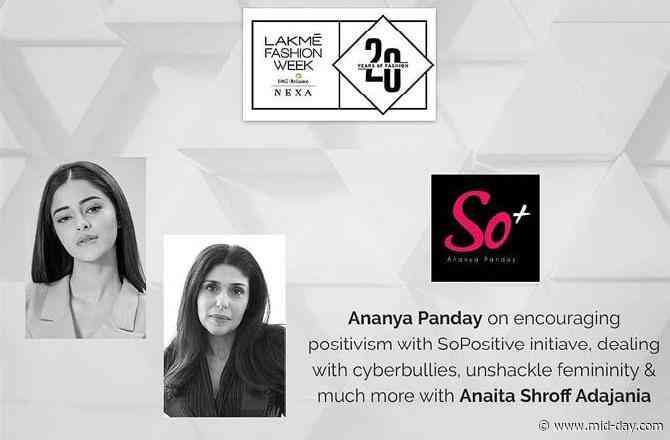 Lakme Fashion Week: Ananya Panday to talk about the menace of social media bullying