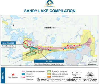 GOLD: G2 Goldfields steps out from W3 zone at Sandy Lake - Canadian Mining Journal