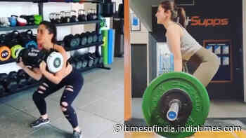 From Anushka Sharma to Sara Ali Khan, B'wood celebs sweat in out in style at gym