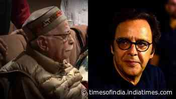 Vidhu Vinod Chopra opens up on his bond with LK Advani, says he was responsible for sending him to Oscars