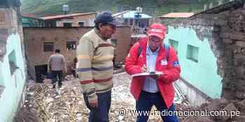 Cofopri realizó catastro de daños en Pisac–Cusco, tras declaratoria de emergencia - Radio Nacional del Perú
