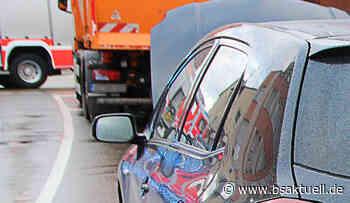 Waltenhofen: Pkw schiebt bei Auffahrunfall Fahrzeuge aufeinander - BSAktuell