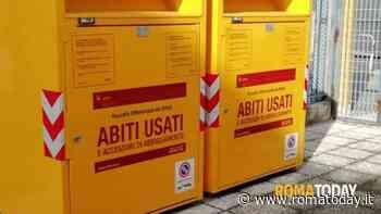 Municipio VI: al via la collocazione dei cassonetti gialli Ama per la raccolta degli abiti usati