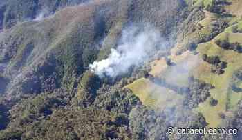 Incendio forestal en Chiquinquirá y Tinjacá necesita apoyo aéreo en Boyacá - Caracol Radio