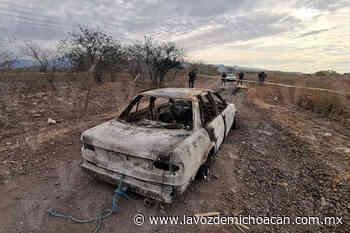 Taxista es encontrado calcinado en su unidad en Buenavista - La Voz de Michoacán