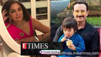 Neena Gupta reveals she was 'tortured by her boyfriend'; Taimur Ali Khan has a sweet tooth and here's the proof, and more...