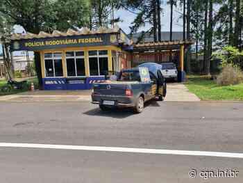 PRF apreende veículo com cigarros em Laranjeiras do Sul - CGN