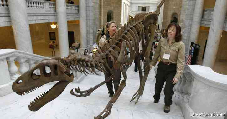 Proposed state park would pay tribute to Utah's dinosaurs