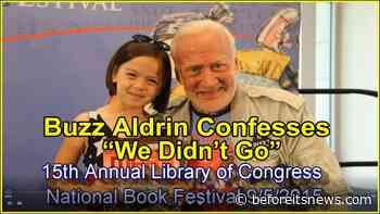 "APOLLO MOON LANDING: Buzz Aldrin Confesses ""We Didn't Go There"""