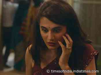 Taapsee's requests to report Thappad trailer