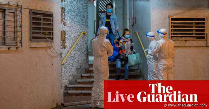 Coronavirus: two UK prisoners reportedly being tested as deaths pass 1,000 – latest news