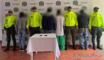 Menores de edad estaban conformado banda criminal en Urrao - Caracol Radio