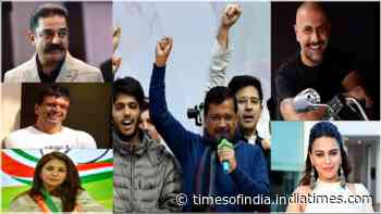 Delhi Elections 2020: Swara Bhasker, Urmila Matondkar, Kamal Haasan, Vishal Dadlani and others congratulate AAP on their victory