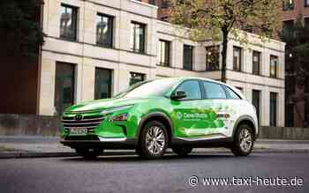 CleverShuttle: Hyundai Nexo ergänzt den Fuhrpark - taxi heute
