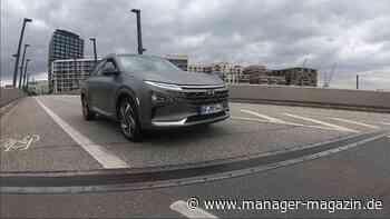 Testfahrt im Brennstoffzellenauto: Warum unser Tester diesen Wasserstoff-Hyundai am liebsten behalten hätte - manager-magazin.de