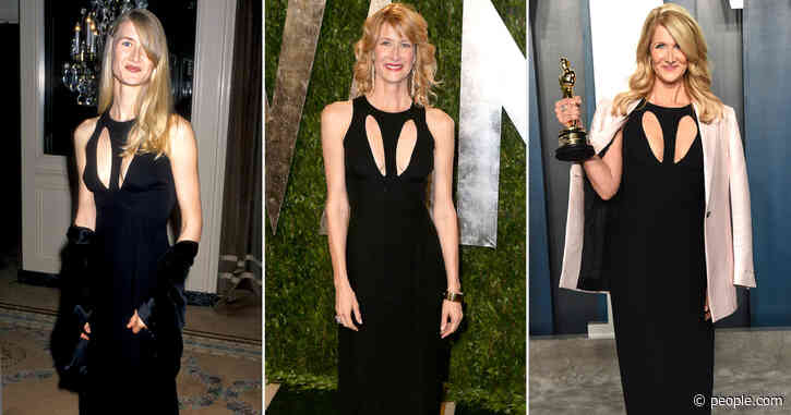 Third Time's a Charm! Laura Dern Previously Wore Her Vanity FairOscars Party Gown in 1995 and 2014