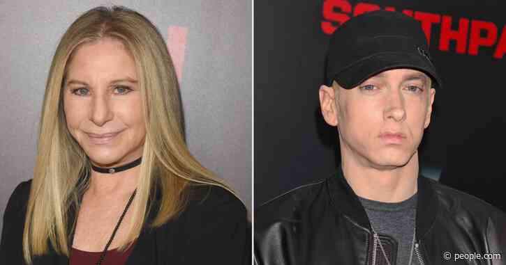 Barbra Streisand Says She Was 'Looking Forward' to Handing Eminem His Oscar Before He Bailed