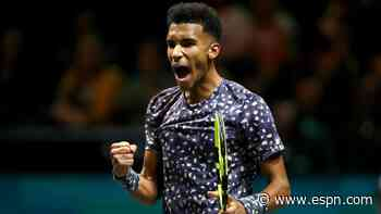Auger-Aliassime, Rublev advance in Rotterdam
