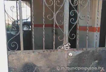 Cierran pobladores presidencia de la Magdalena Tetela en Acajete - Municipios Puebla