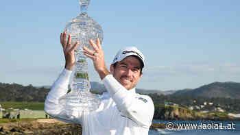 Golf: Nick Taylor gewinnt in Pebble Beach, Rory McIlroy ist Nr. 1 - LAOLA1.at