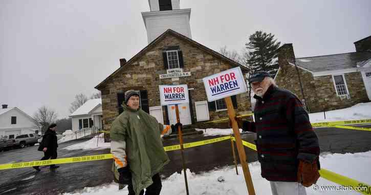 New Hampshire voting underway as 2020 Democrats seek clarity