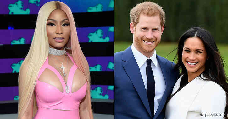 """Nicki Minaj Approves of Prince Harry and Meghan Markle Move: 'Real Men Say """"Happy Wife, Happy Life""""'"""