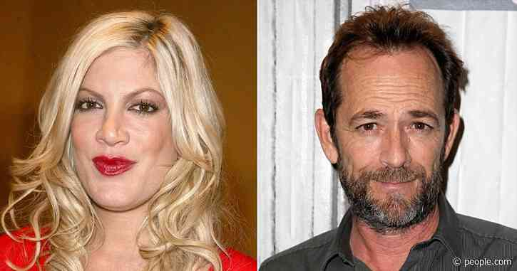 Tori Spelling Criticizes Oscars' Exclusion of 90210 Costar Luke Perry from in Memoriam Tribute