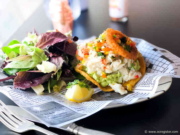 Taco Tuesday: This ceviche tostada counts as a taco, right?