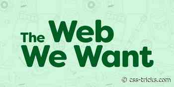 Building the Web We Want