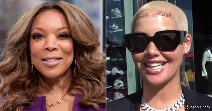 Wendy Williams Criticizes Amber Rose's Face Tattoo: 'Why Would You Ruin Your Forehead?'