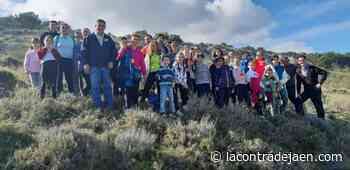 Reforestaciones de padres a hijos en el cerro de Santa Catalina - Lacontradejaen