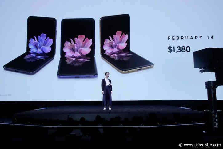 Samsung unveils $1,385 folding phone, Galaxy Z Flip