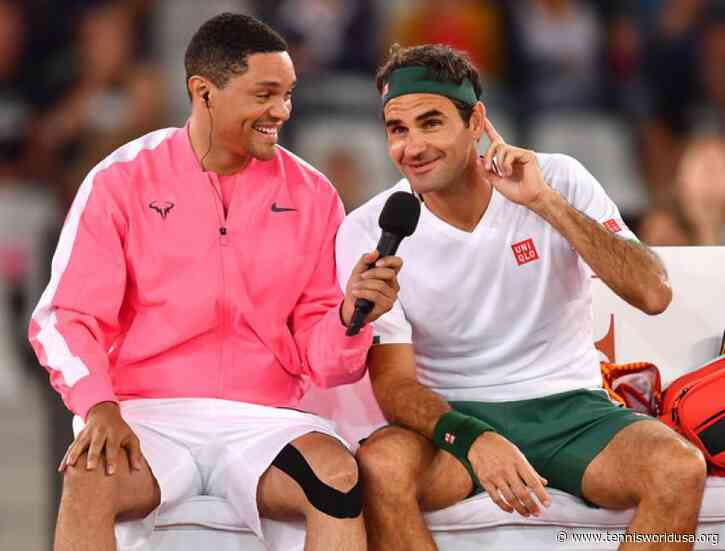 Trevor Noah:Thank you Roger Federer,Rafael Nadal e all who supported this great cause