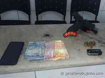 Suspeitos são presos após assaltarem posto de combustíveis em Satuba - Gazetaweb.com