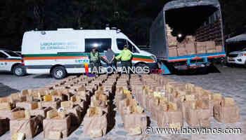 Cayeron 817 kilos de marihuana en la vía Pitalito-Mocoa - Laboyanos.com