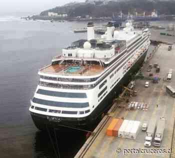 Amsterdam arriba a San Antonio en su Grand World Voyage - https://portalcruceros.cl