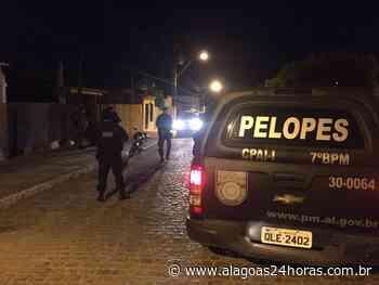Pelopes recupera moto furtada durantes rondas em Santana do Ipanema - Alagoas 24 Horas