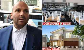 Celebrity chef George Calombaris is chased by the government over his personal assets