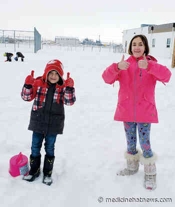Bow Island family settling in after arriving to Canada in November - Medicine Hat News