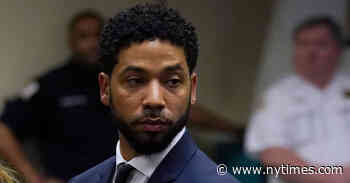 Jussie Smollett Is Indicted Again on Charges of Staging a Hate Crime