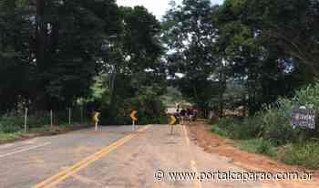 Rodovia de Reduto a Manhumirim será interditada de terça até dia 22 - Portal Caparaó