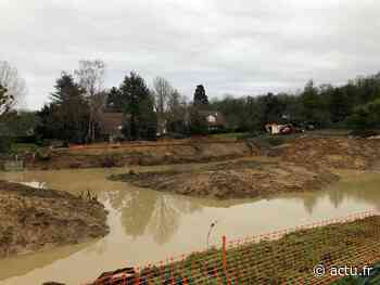 Yvelines. Aux Essarts-le-Roi, les travaux du bassin des Gandines font toujours couler de l'encre - actu.fr