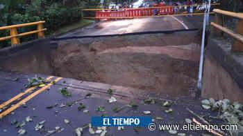 Paso provisional, tras caída de puente en vía Barbosa-Puerto Berrío - El Tiempo