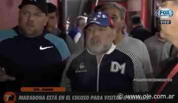 Maradona está en el Coloso - 10/02/2020 - Olé