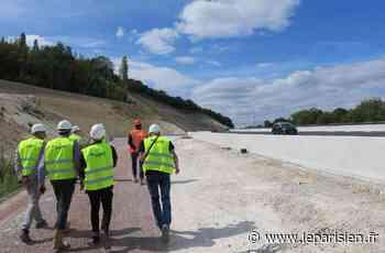 Yvelines : le viaduc de l'A13 à Guerville ouvert aux automobilistes - Le Parisien