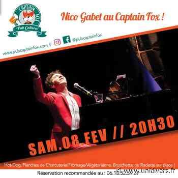 Nico Gabet au Captain Fox Captain Fox Bois-Colombes 8 février 2020 - Unidivers