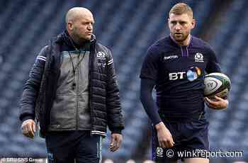 Russell 'must put Scotland first' to win recall, warns coach Townsend - Wink Report