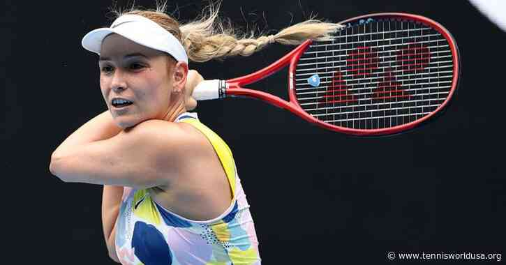 St. Petersburg: Donna Vekic moves into round 2; Vondrousova ousted