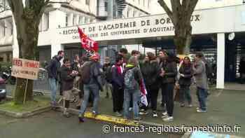 """Grève à l'EREA d'Eysines : """"Oui"""" à la scolarité inclusive, """"Non"""" à la fermeture de classes adaptées - France 3 Régions"""